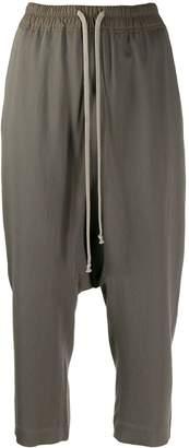 Rick Owens elasticated waist trousers