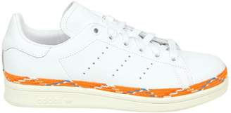 adidas Sneakers Stan Smith New Bold Leather White Color