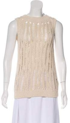 Yigal Azrouel Cut25 by Sleeveless Knit Top w/ Tags