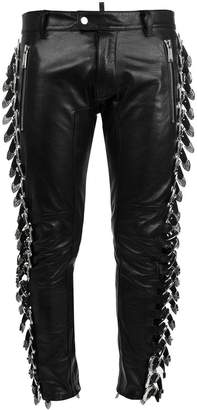 DSQUARED2 buckle embellished trousers