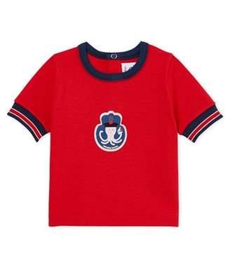 Petit Bateau (プチ バトー) - プリント半袖Tシャツ