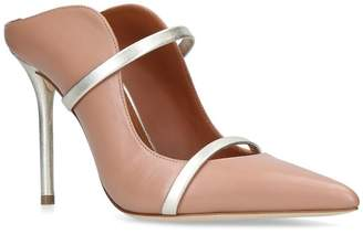 Malone Souliers Leather Maureen Mules 100