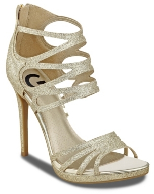 G by GUESS Girllie Sandal $69 thestylecure.com