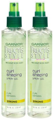 Garnier Fructis Curl Shape Spray Gel, Strong Hold, 8.5 oz, 2 pk $9.77 thestylecure.com