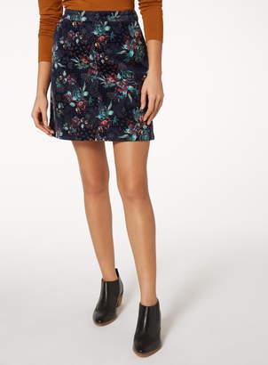 Tu Clothing Multicoloured Printed Cord Mini Skirt