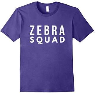 Nice Zebra Squad Tee Shirt