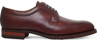 Barker Skye plain leather derby shoes