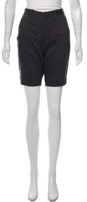Theory Linen Knee-Length Shorts w/ Tags