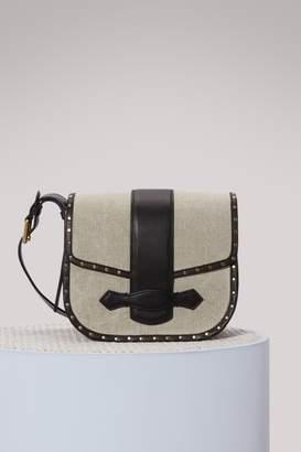 Vanessa Bruno Gemma leather messenger bag