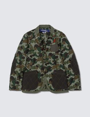 Junya Watanabe Bape BApe X Laminated Cotton Jacket