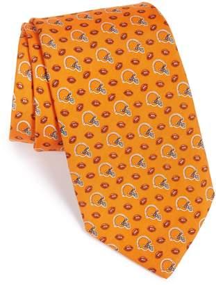 Vineyard Vines Cleveland Browns - NFL Woven Silk Tie