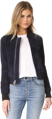 Theory Daryette S Bomber Jacket $1,250 thestylecure.com