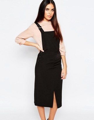 Warehouse Pinafore Dress $98 thestylecure.com