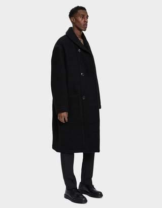 Lemaire Kaftan Wool Overcoat