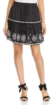 Kate Spade Embroidered Mini Skirt