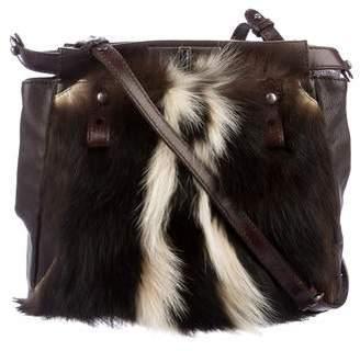 b2581ee258 Pre-Owned at TheRealReal · Fendi Fur-Trimmed Peekaboo Crossbody Bag