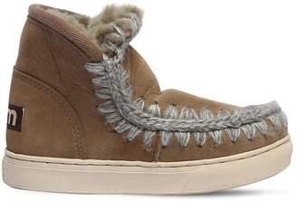 Mou Mini Eskimo Shearling Ankle Boots