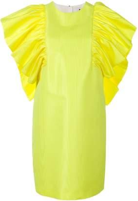 MSGM ruffle sleeve dress