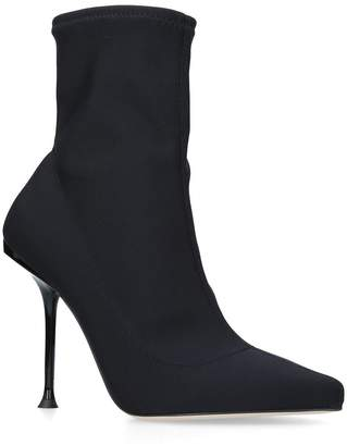 Sergio Rossi Sock Ankle Boots 100