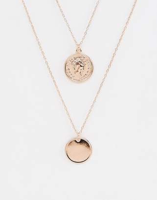 Johnny Loves Rosie double layered pendant necklace
