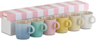 Le Creuset Sorbet Collection 6-Pc. Espresso Mugs Set