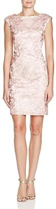 Sue Wong Sleeveless Lace Sheath Dress $348 thestylecure.com