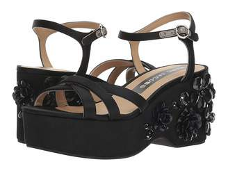 Marc Jacobs Callie Embellished Wedge Sandal Women's Shoes