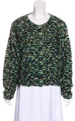 Chloé Bouclé Bateau Neck Sweater