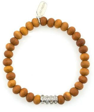 Lisa Freede Sandalwood Rondell Bracelet