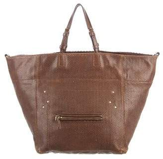 Jerome Dreyfuss Snakeskin Jacques Tote
