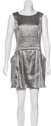 Theyskens' Theory Sleeveless Mini Dress