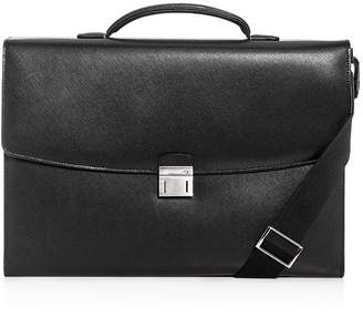 Montblanc Sartorial Single Gusset Leather Briefcase