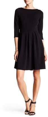 24\u002F7 Comfort Boatneck Skater Dress (Plus Size Available)