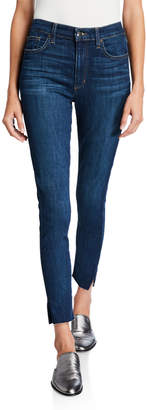 Joe High-Rise Vented Ankle-Cut Jeans
