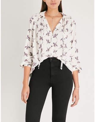 BA&SH Fausta crepe shirt