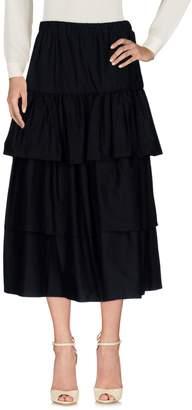 Rose' A Pois 3/4 length skirts