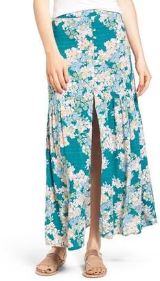 Women's O'Neill Samara Floral Print Maxi Skirt $54 thestylecure.com