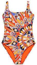 Tory Burch Kaleidoscope Tank Suit