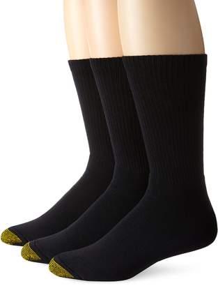 Gold Toe Men's 2306S Uptown Crew 3 Pack Casual Sock