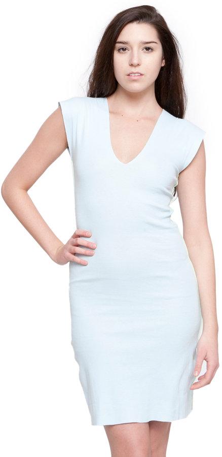 Baby Rib Cut-Out Dress