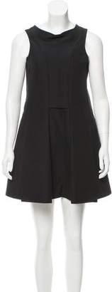 Balenciaga Sleeveless Pleated Dress