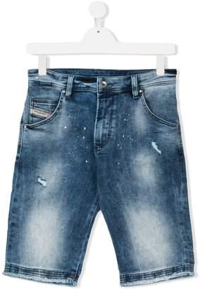 Diesel denim shorts