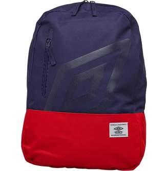 Umbro Aspen Diamond Logo Backpack Navy