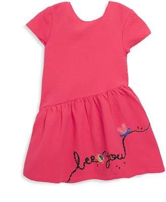 Catimini Little Girl's & Girl's Waffle Fit-&-Flare Dress
