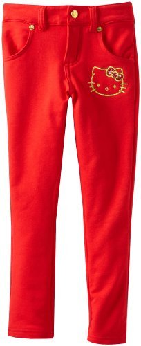Hello Kitty Girls 2-6X Knit Pant Skinny
