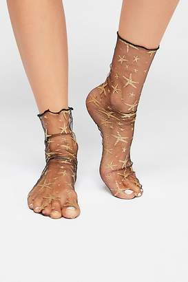 Hey You Sheer Anklet