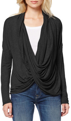 Michael Stars Draped Open Front Cardigan $98 thestylecure.com