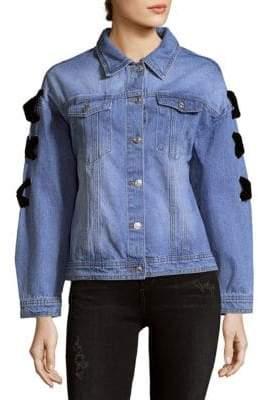 ENGLISH FACTORY Denim Cotton Jacket