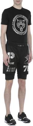 Philipp Plein Tech Fabric Shorts