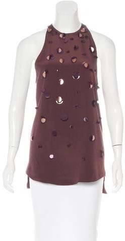 3.1 Phillip Lim 3.1 Phillip Lim Sequin-Embellished Sleeveless Top
